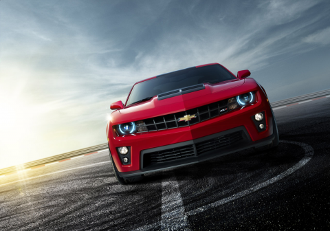 The 2013 Chevy Camaro ZL1