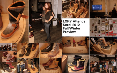 LXRY Attends: Sorel 2012 Fall/Winter Preview