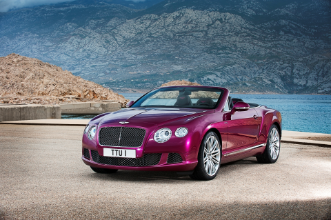 The New Bentley Continental GT Speed Convertible: The Fastest 4-Seater Convertible in the World