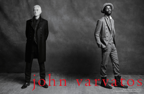 Rock 'N' Roll Meets Fashion: John Varvatos Brings New York Style To Canada