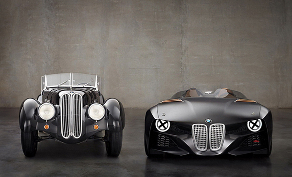 The BMW 328 Hommage Concept