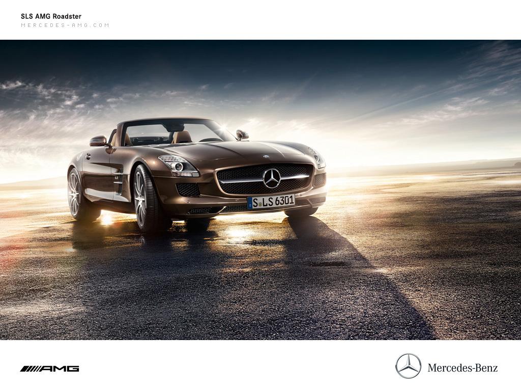 The Mercedes SLS AMG Roadster