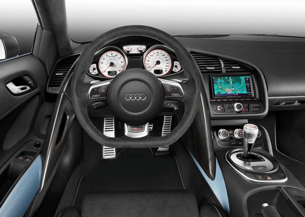 2012 Audi R8 GT Interior