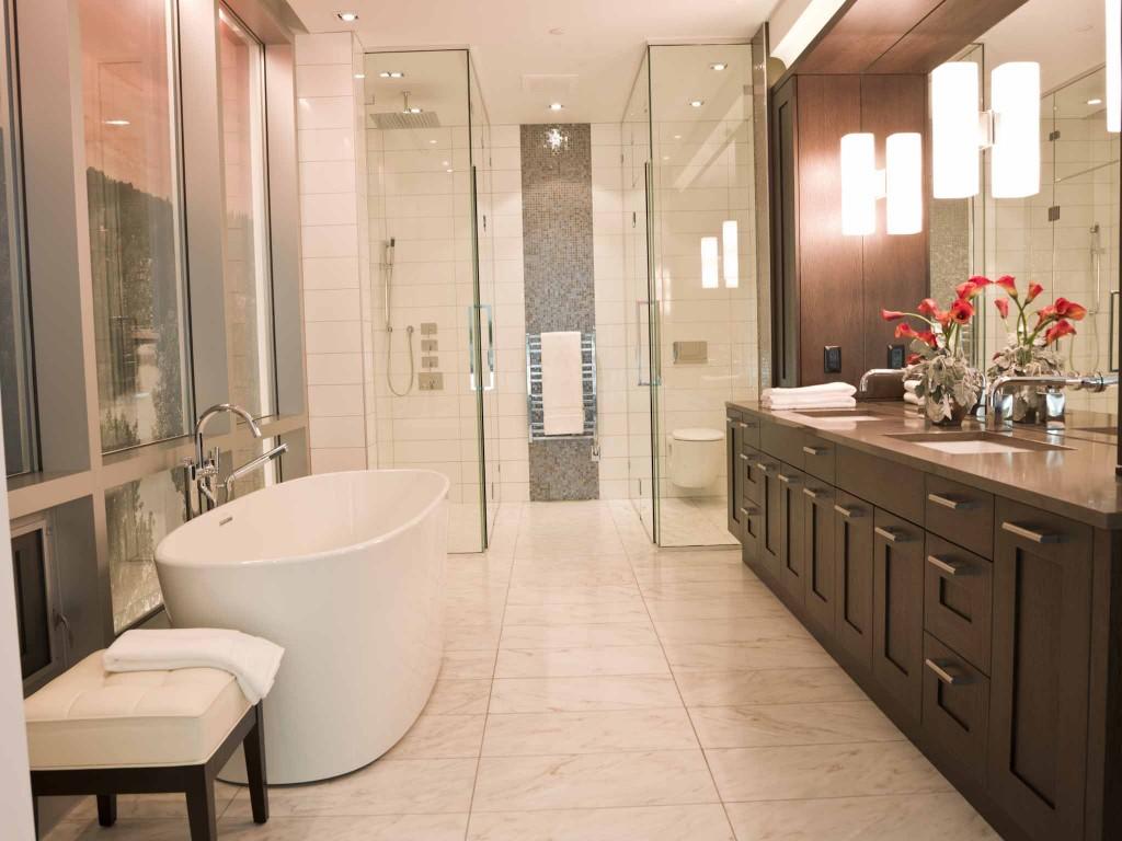 The RIVER Condo Bathroom