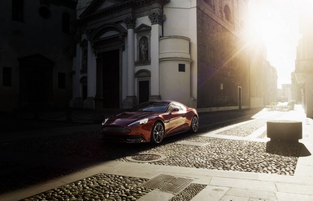 2013 Aston Martin Vanquish Exterior