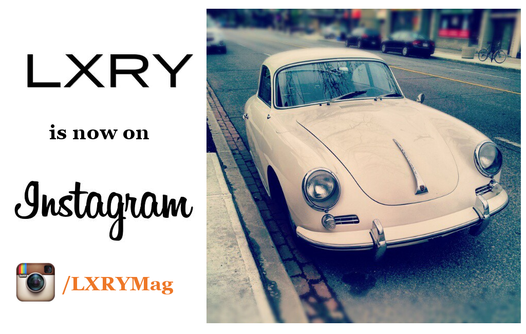 LXRY is now on Instagram!