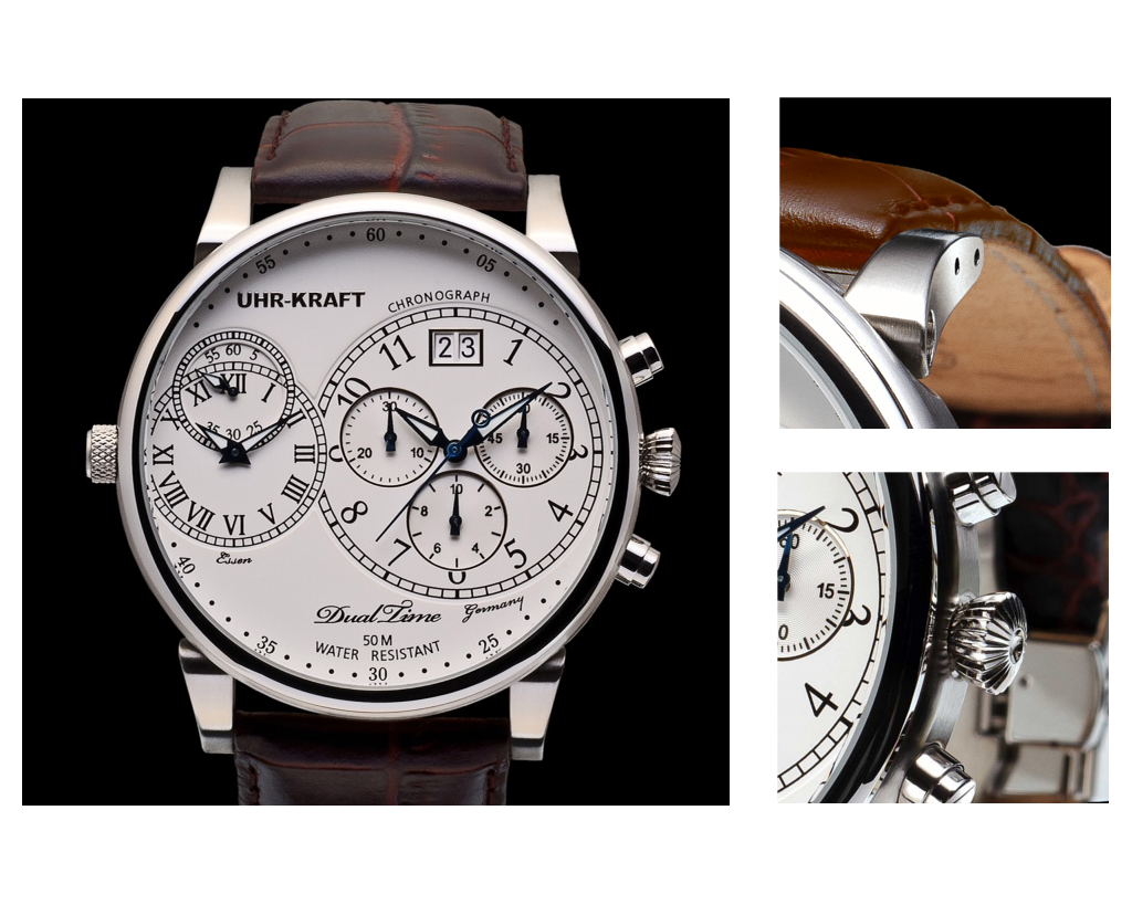The Uhr-Kraft Dualtimer 54 Classic Watch