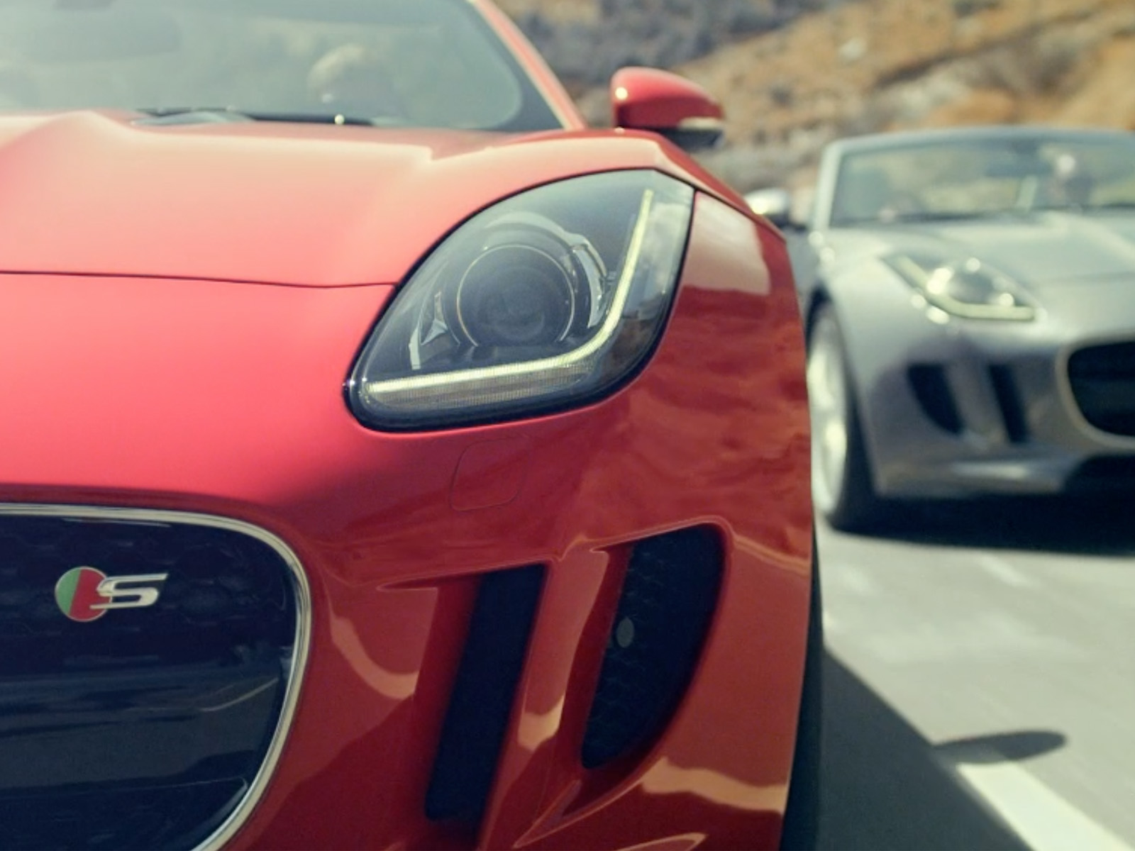 The 2014 Jaguar F-Type Convertible Stars In New 'Desire' Movie