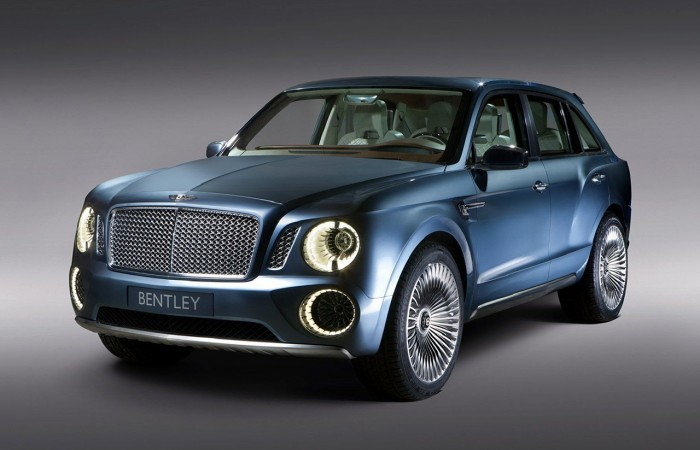 LXRY Preview: The 2016 Bentley SUV