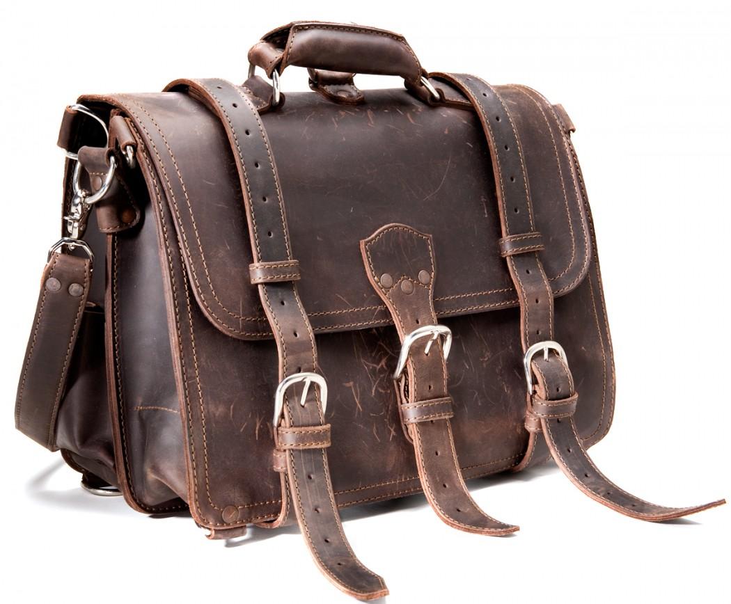 LXRY Magazine Saddleback Leather Bag