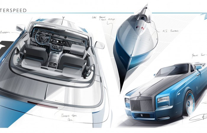Rolls-Royce's New Bespoke Waterspeed Collection