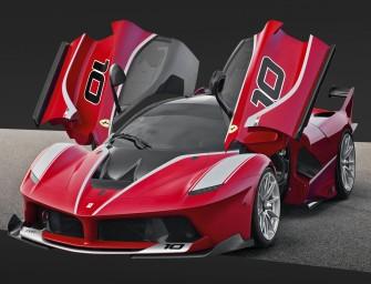The Design Process Of The Ferrari FXX K