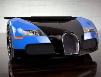 Photo Of The Day: Bugatti Veyron Desk