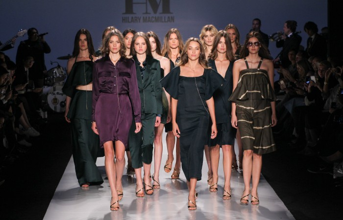Hilary MacMillan Brings Colourful Energy To 2016 S/S Collection at WMCFW