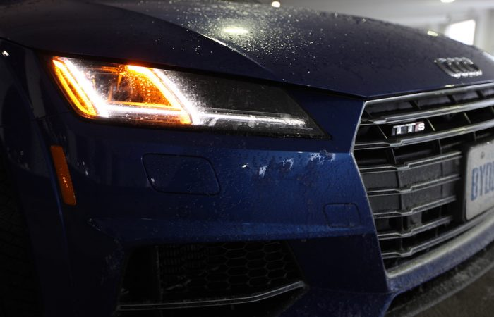 This Happened In A New 2016 Audi TTS Coupe