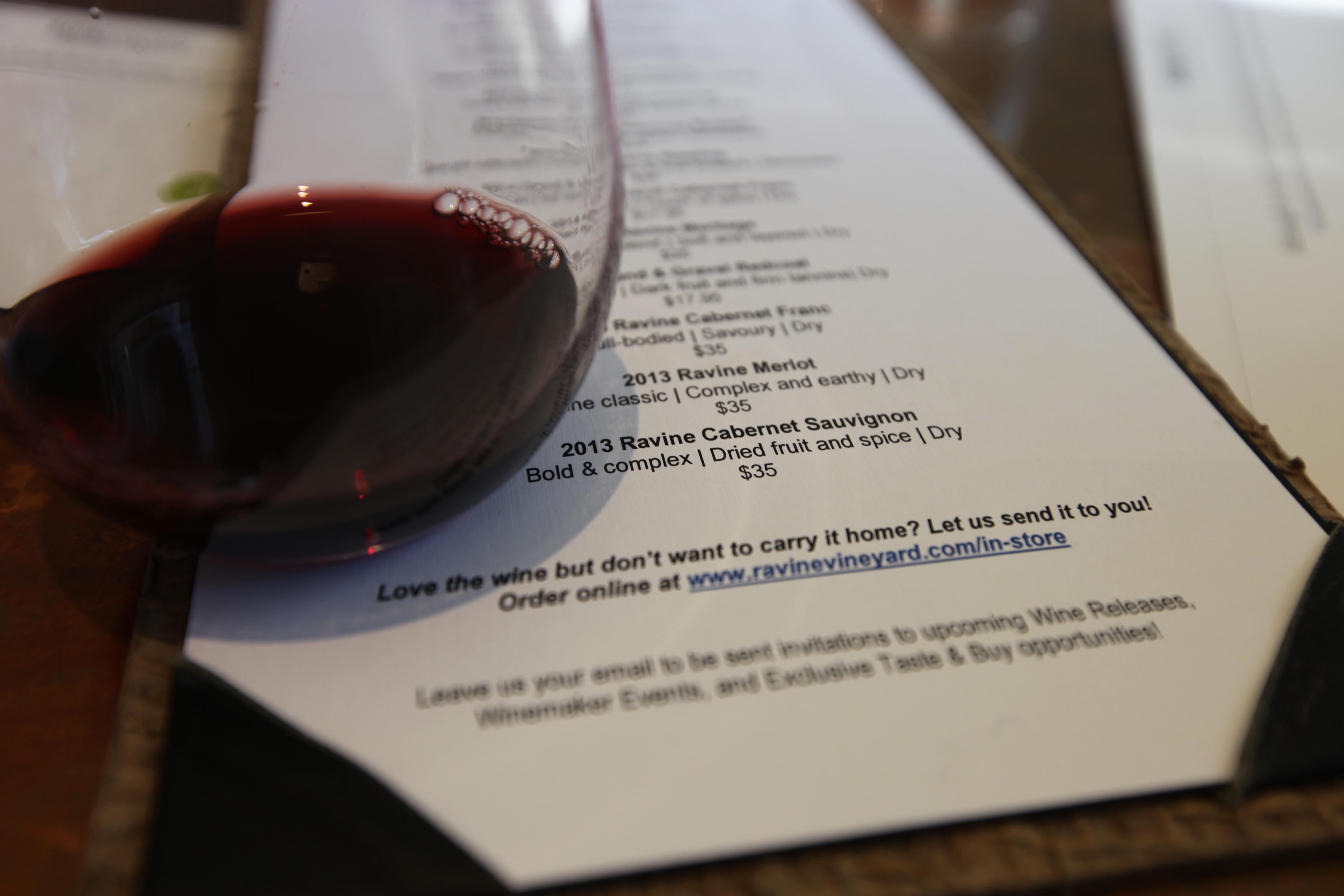 Ravine Wineyard LXRY Magazine 2