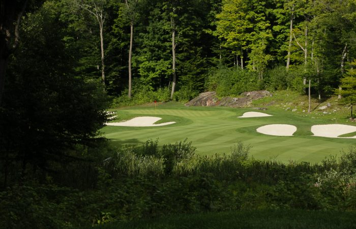 Play The Rock Golf Course in Muskoka