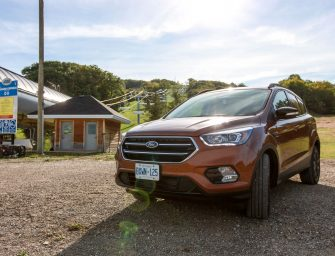 Checking Off A Bucket List Item In A New 2017 Ford Escape Titanium