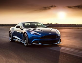 The New Grand Tourer From Aston Martin: The Vanquish S