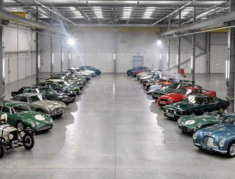 WATCH: $114 Million CAD Worth of Aston Martin's Have A Day Off