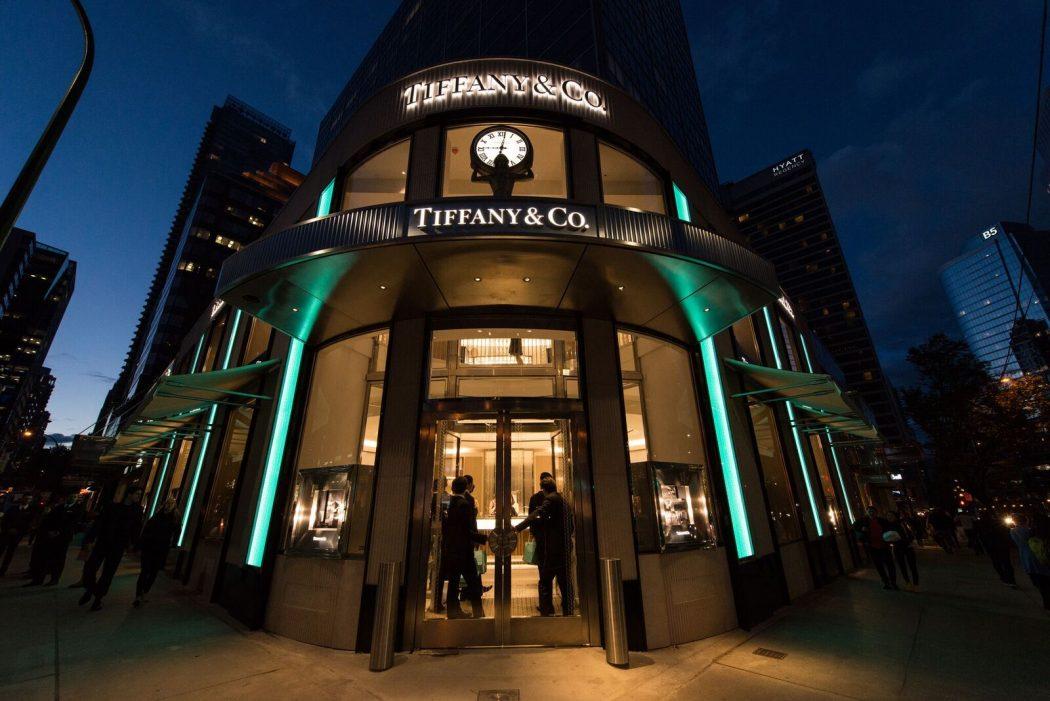 Tiffany & Co. Burrard Street Vancouver LXRY