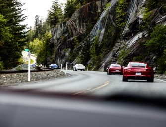 Driving British Columbia's Sea-to-Sky Highway in a Porsche 911 Carrera 4S To Whistler