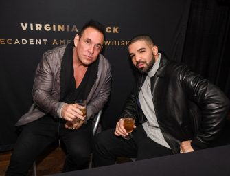 Drake To Go Public With Virginia Black American Whiskey in Q1 2018
