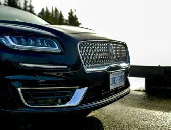Carving Through Tofino's Coastline In A 2019 Lincoln Nautilus