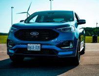 Carving A Ford Edge ST Around Cayuga Speedway