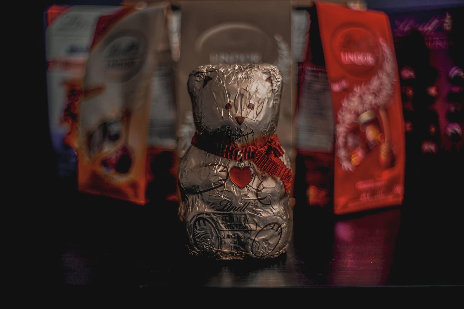 Lindt Chocolate Teddy Bear For Kids