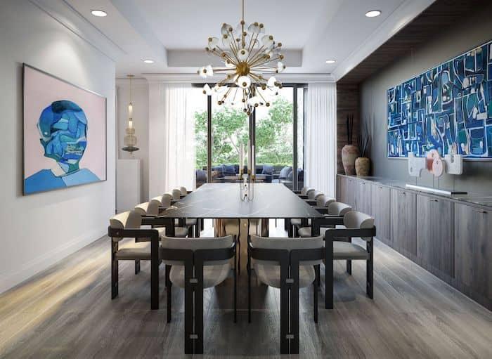 10 Prince Arthur 2021 Yorkville Interior Dining